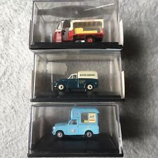 1:76 Scale 00 Gauge Oxford Cars Ice Cream Milk Austin Job Lot Diecast Boxed VG