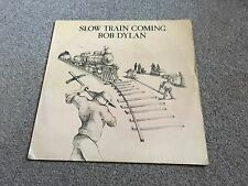 BOB DYLAN - SLOW TRAIN COMING - 1979 LP - LOTS MORE DYLAN IN MY EBAY SHOP LOOK!!