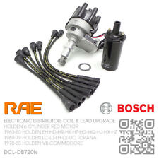 RAE ELEC DISTRIBUTOR & BOSCH COIL/LEADS 6-CYL 3.3L 202 RED [HOLDEN VB COMMODORE]