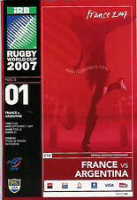 FRANCE v ARGENTINA RUGBY WORLD CUP 2007 - OPENING MATCH