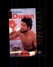 1995 Signature Rookies Tetrad Titans #T1 Roberto Duran (A)