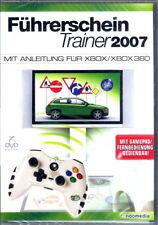 Permis de conduire Entraîneur 2007 Xbox, xbox360 avec manette, Remote opérationnel