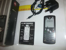 Motorola F3 - Black Mobile Phone**UNLOCKED TO ANY NETWORK AND BOXED***