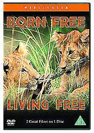 BORN FREE / LIVING FREE - NEW DVD