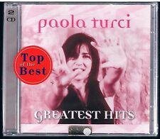 PAOLA TURCI GREATEST HITS DOPPIO CD SIGILLATO!!!