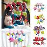 Hanging Baby Crib Cot Pram Rattles Spiral Stroller Car Seat Pushchair Bell Toys