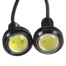 2pcs/lot 12V 9W Car Eagle Eye LED Day Running Lights Energy Saving Reverse Lamp