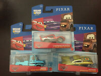 DISNEY PIXAR CARS ALL NEW FEST EDITION LOT OF 3 McQUEEN, MATER & RAMONE