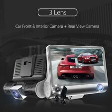 Dual Lens 4'' HD 1080P Vehicle Car Dash Cam Rear Video Camera Recorder DVR  MC