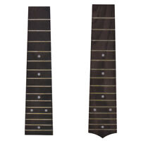 Fretboard Fretted Fingerboard for 21 Inch Soprano Ukulele 15 Fret 2Pcs