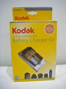 Brand New KODAK K7600-C Li-Ion UNIVERSAL BATTERY CHARGER KIT