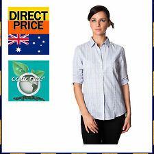 Women's Casual Check Regular Button Down Shirt Tops & Blouses