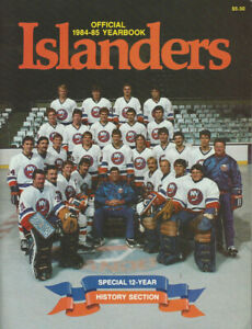 1984-85 New York Islanders  yearbook great condition