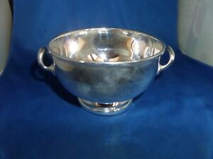 LOVELY SAVOY HOTEL LONDON SAUCE TUREEN C.1955 SILVER PLATE GAINSBOROUGH