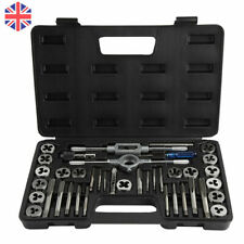 More details for 40pcs tap and die set nut & bolt screw multifunction thread cutter wrench tool