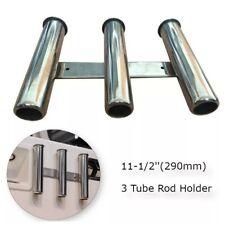 Porte-canne Triple, 3 tubes en acier inoxydable | 316 support de canne à pêche