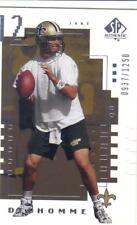 2000 UPPER DECK SP AUTHENTIC serial #'ed 0937/1250 JAKE DELHOMME #160 NO Saints