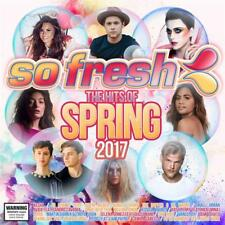 SO FRESH THE HITS OF SPRING 2017 VARIOUS ARTISTS CD NEW