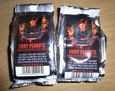 Who Dares Burns Peanuts - Evil Hot Naga Chilli Peanuts - Very Hot 2 x 80g Pack