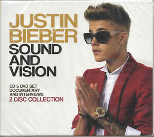 JUSTIN BIEBER / SOUND AND VISION / 2015 INTERVIEWS CD + DOCUMENTARY DVD
