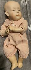 """Rare Mold 6896 Large 10"""" baby Gebruder Heubach antique bisque head doll Germany"""