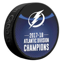 Tampa Bay Lightning 2018 Atlantic Division Champions Hockey Puck - NEW