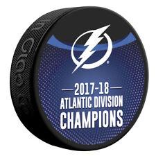 Tampa Bay Lightning 2018 Atlantic Division Champions Hockey Puck - NEW