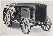 D2342 Trattore a vapore Bryan - Stampa d'epoca - 1925 vintage print