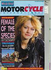 MCI Jan 1986  Kawasaki KLR600 Honda XL600 Suzuki GSX-R1100 NS500 OW81 XR70