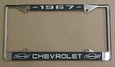 67 1967 Chevy car truck Chrome license plate frame
