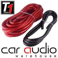5 Metre 4 AWG 4 Gauge RED Power + 1 Metre BLACK Earth Cable for Car Amplifiers