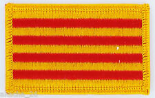 PATCH ECUSSON BRODE DRAPEAU CATALAN CATALOGNE  INSIGNE THERMOCOLLANT NEUF FLAG
