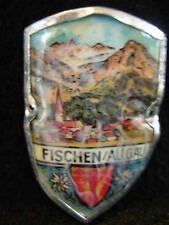 Fischen im Allgau hiking medallion stocknagel G1506
