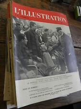 L'illustration année 1940  Lot de 41 numéros