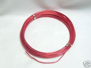 1 x 12m Reel Anodised Aluminium Craft Wire : 01 Red