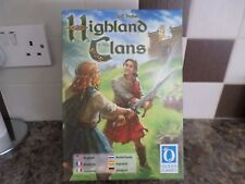 HIGHLAND CLANS BOARD GAME GOOD CONDITION FREE UK POST