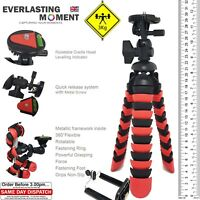 Large Heavy Duty Octopus Flexible Gorilla Tripod for DSLR with Phone Adapter