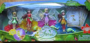 Tinkerbell Fairy friendship dolls NIB Tink Pluck Iris & Dulcie 2006