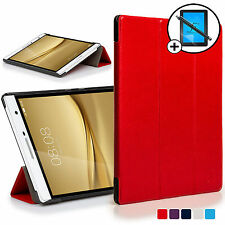 Red Smart Case Cover Shell Huawei MediaPad T2 7.0 Pro / M2 7.0 Scrn Prot Stylus