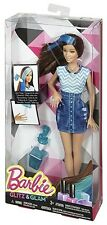 MATTEL Barbie Glitz & Glam bambola outfit (Blu) chj92-Nuovo in Scatola