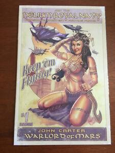 JOHN CARTER WARLORD OF MARS # 1 NM DEJAH THORIS BOMBSHELL COVER