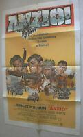 Filmplakat,PLAKAT, ANZIO,ROBERT MITCHUM,PETER FALK,#186