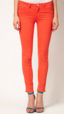 NEW J Brand 811 Skinny Leg Jeans Size 25 Tangerine Orange Stretch Denim Ankle