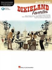 Dixieland Favorites Alto Sax Instrumental Play-Along Book and Audio 000268758
