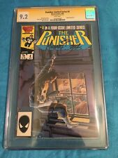 Punisher Limited Series #4 - Marvel - CGC SS 9.2 - Signed by Mike Zeck
