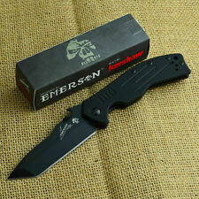 Kershaw Emerson CQC-8K 8Cr14MoV Tanto G-10 Tactical Knife 6044TBLK