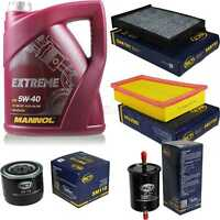 Inspektionspaket 5L MANNOL Extreme 5W-40 Motoröl + SCT Filter KIT 10755532