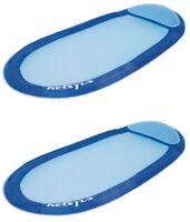 Kelsyus Floating Hammock Inflatable Pool Lounger Raft - Blue (Set of 2)   80032
