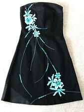 Jane Norman Women's Dresses x2 SIZE 8 Black with Floral Detail