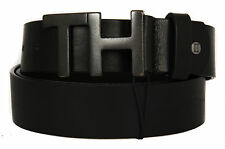 Cintura uomo pelle belt TOMMY HILFIGER art. AM0AM01642 taglia 115 col. 002 NERO